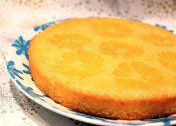 Gâteau renversé à la clémentine