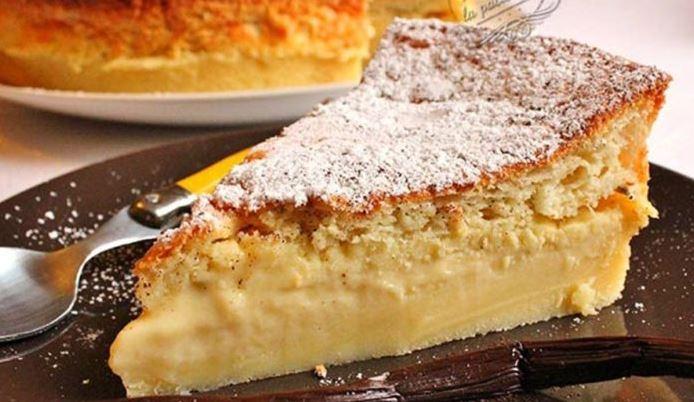Gâteau magique à la vanille Recette facile