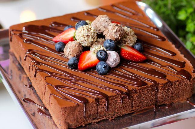 Gâteau mousse au chocolat comme un Trianon