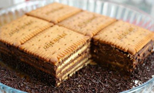 Gâteau petits Lu à la mousse au chocolat tès facile