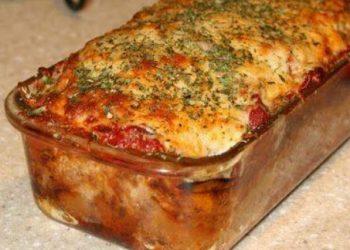 Pain de viande italien au parmesan