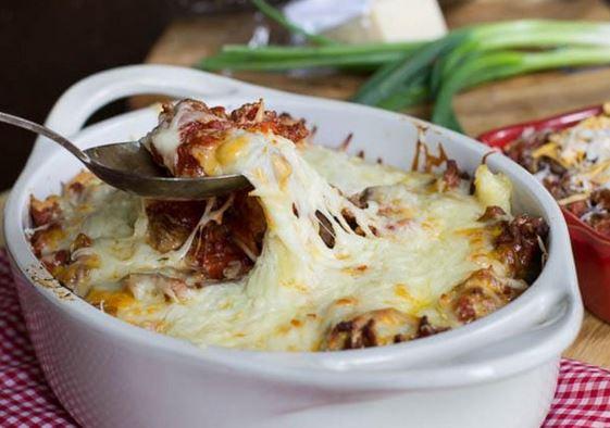 Une réconfortante casserole de boeuf haché à l'italienne