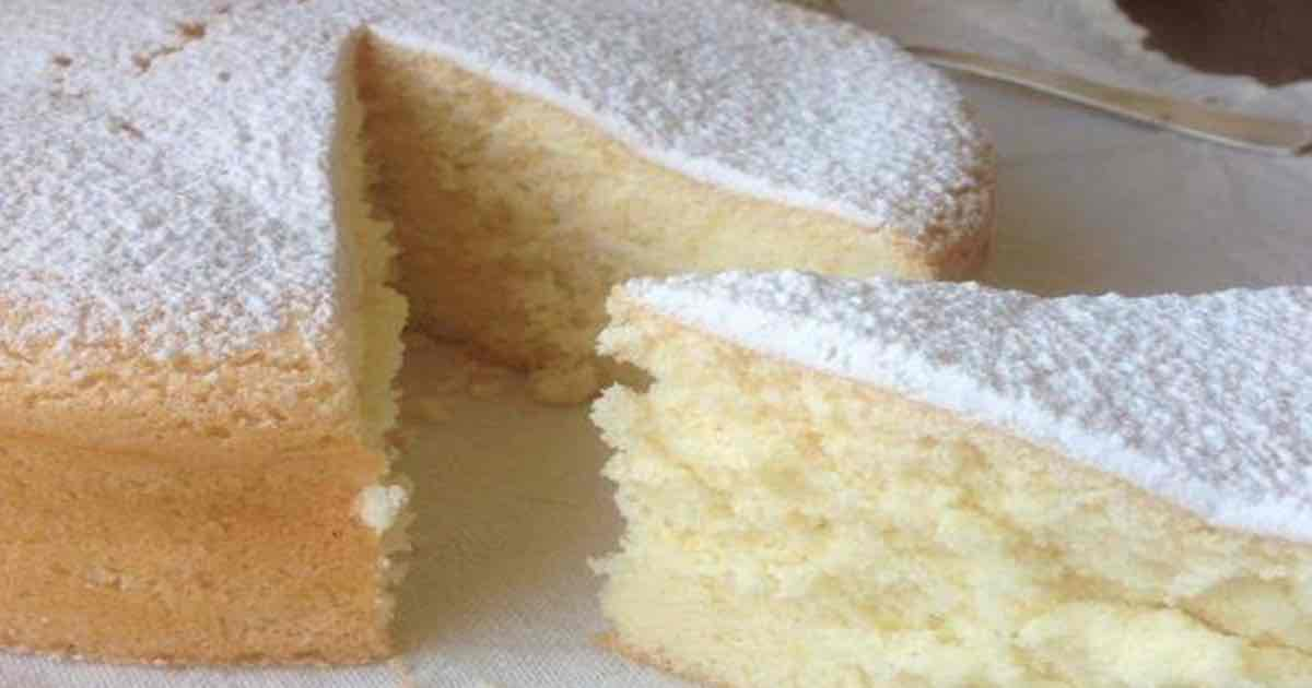 Gâteau Mousseline avec bon goût d'enfance