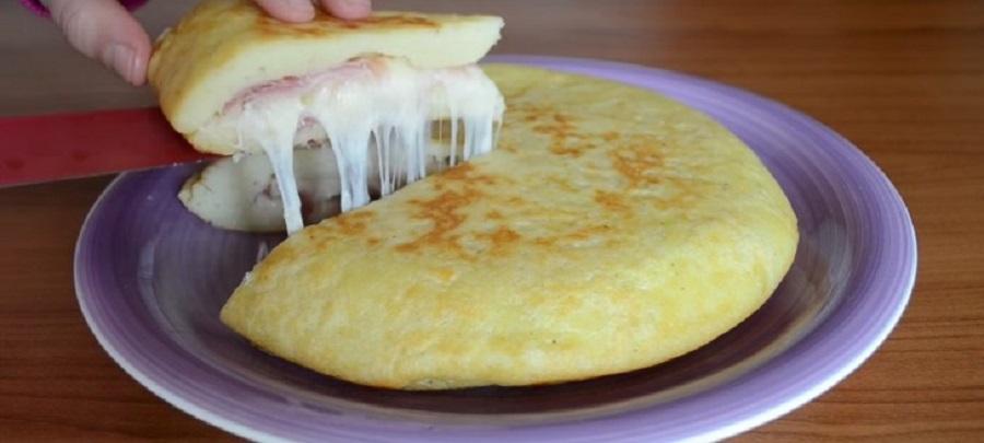 omelette De Patate