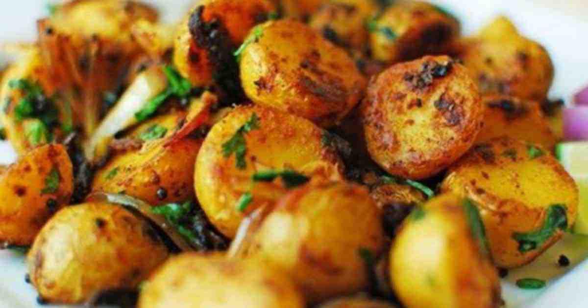 Pommes de terre au chambray citron