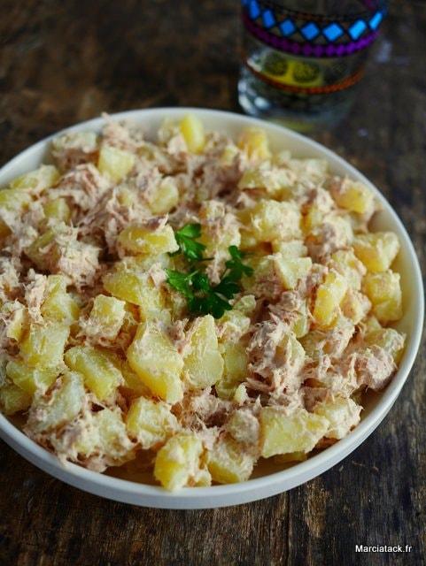 RECETTE : Salade pommes de terre thon