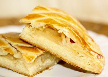 Recette galette des rois amande pommes caramel Desserts