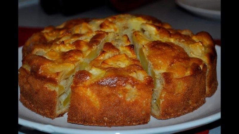 Très facile : Gâteau aux pommes