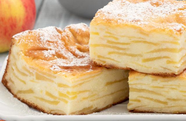 Gateau confit aux pommes sans farine sans oeufs sans gras ni produits laitiers IG bas