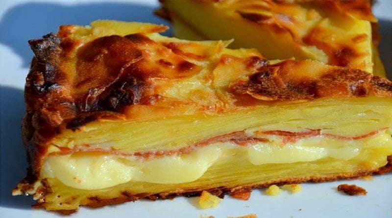 Gâteau Invisible Raclette à la Pomme de terre Un régal !e terre
