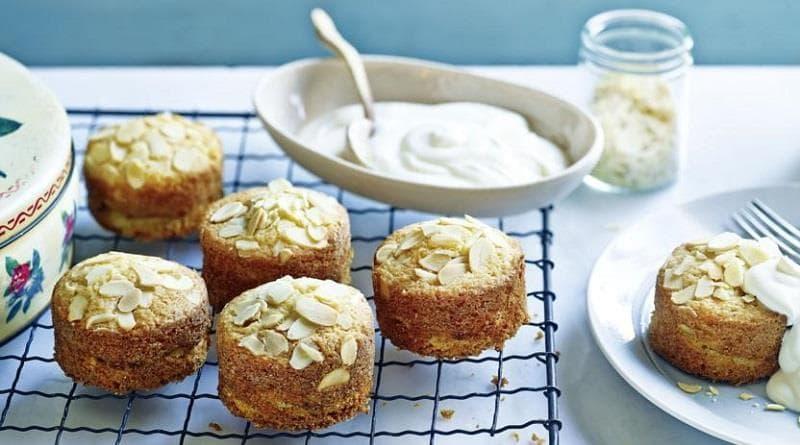 Petits moelleux aux pommes et aux amandes : On ne déroge pas à la règle, voici ma petit recette sucré du weekend !!