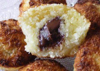 Moelleux coco, coeur de chocolat