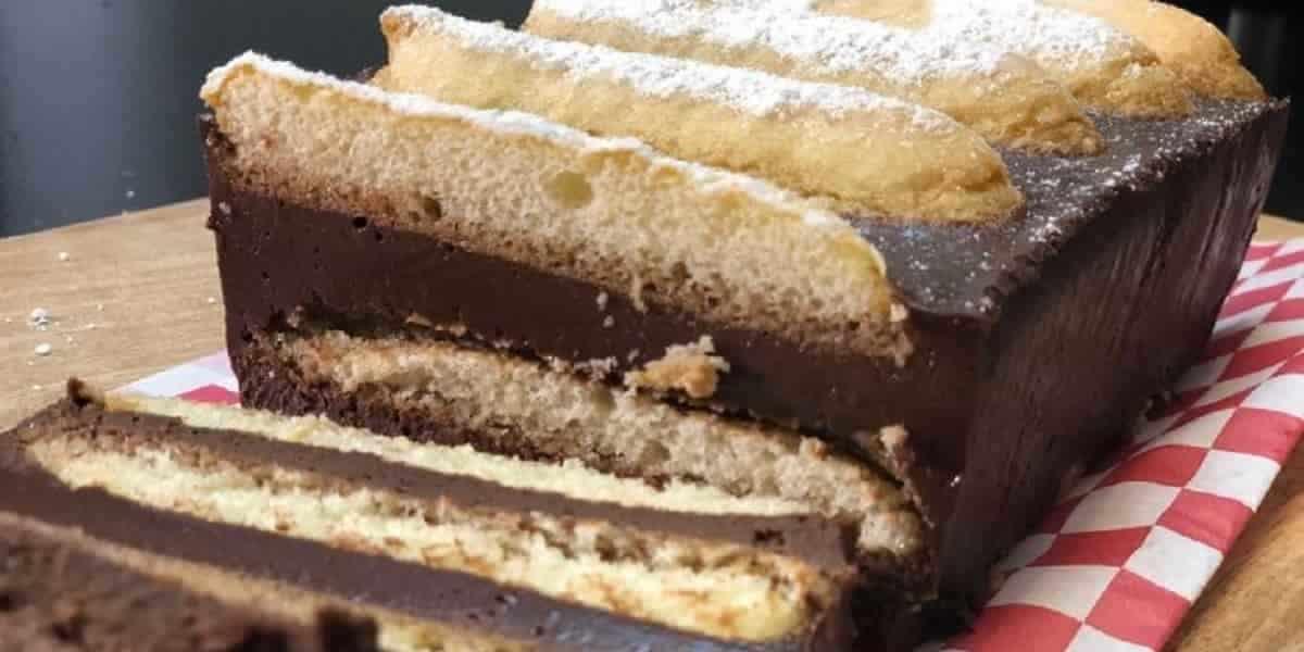 Recette du gâteau au chocolat sans cuisson avec seulement 4 ingrédients