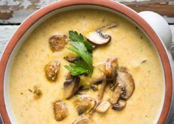 Soupe ukrainienne aux champignons