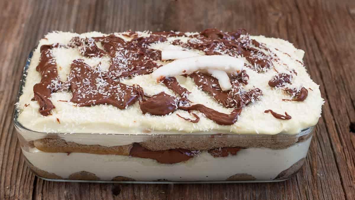 Tiramisu à la noix de coco et Nutella