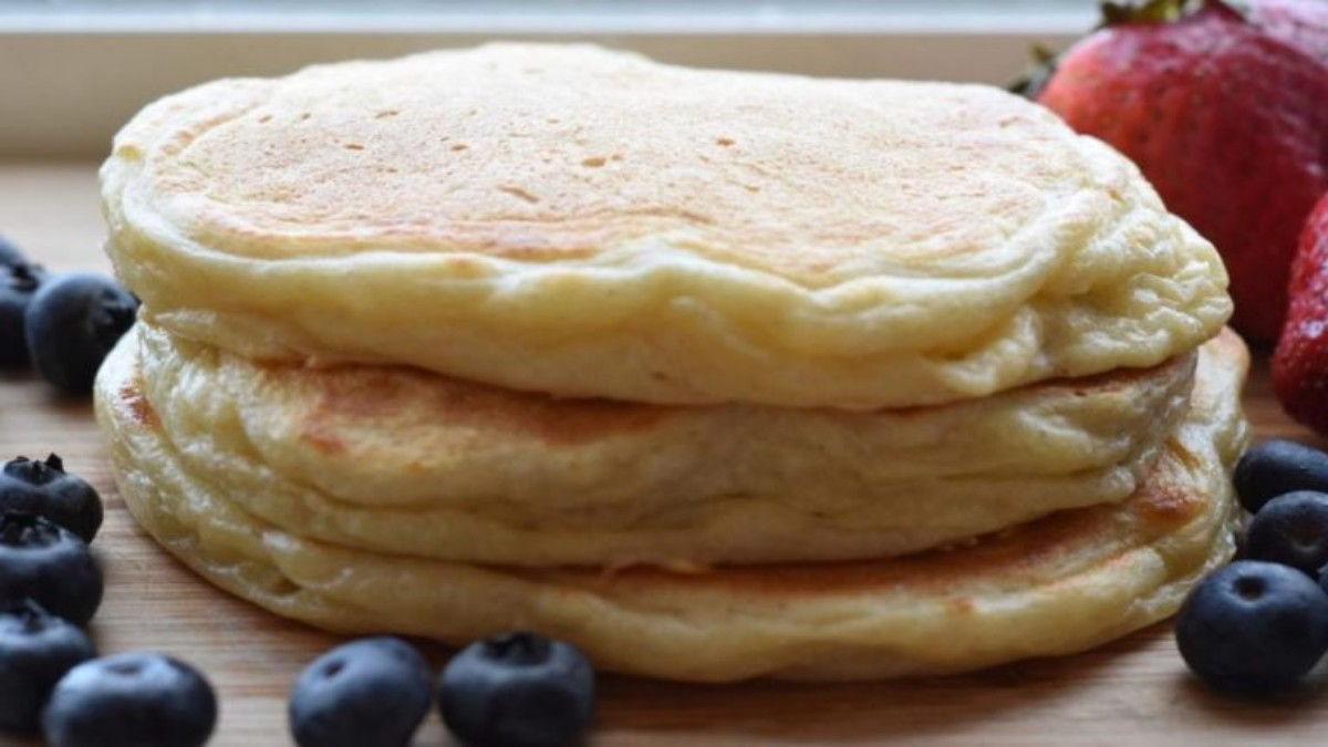 Delicieux Pancakes au Yaourt inratable, Extra facile - Tasties Foods