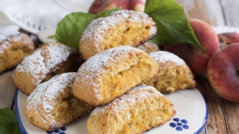 BISCUITS AUX PÊCHES