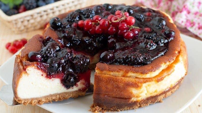 Cheesecake aux baies