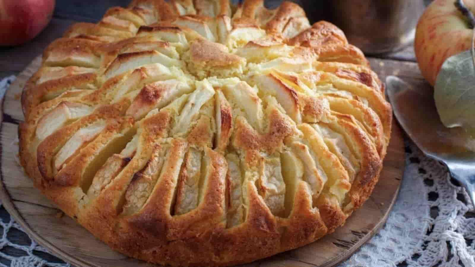 Gâteau aux pommes au yogourt