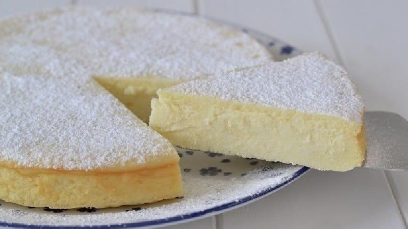 Gâteau crémeux à la ricotta