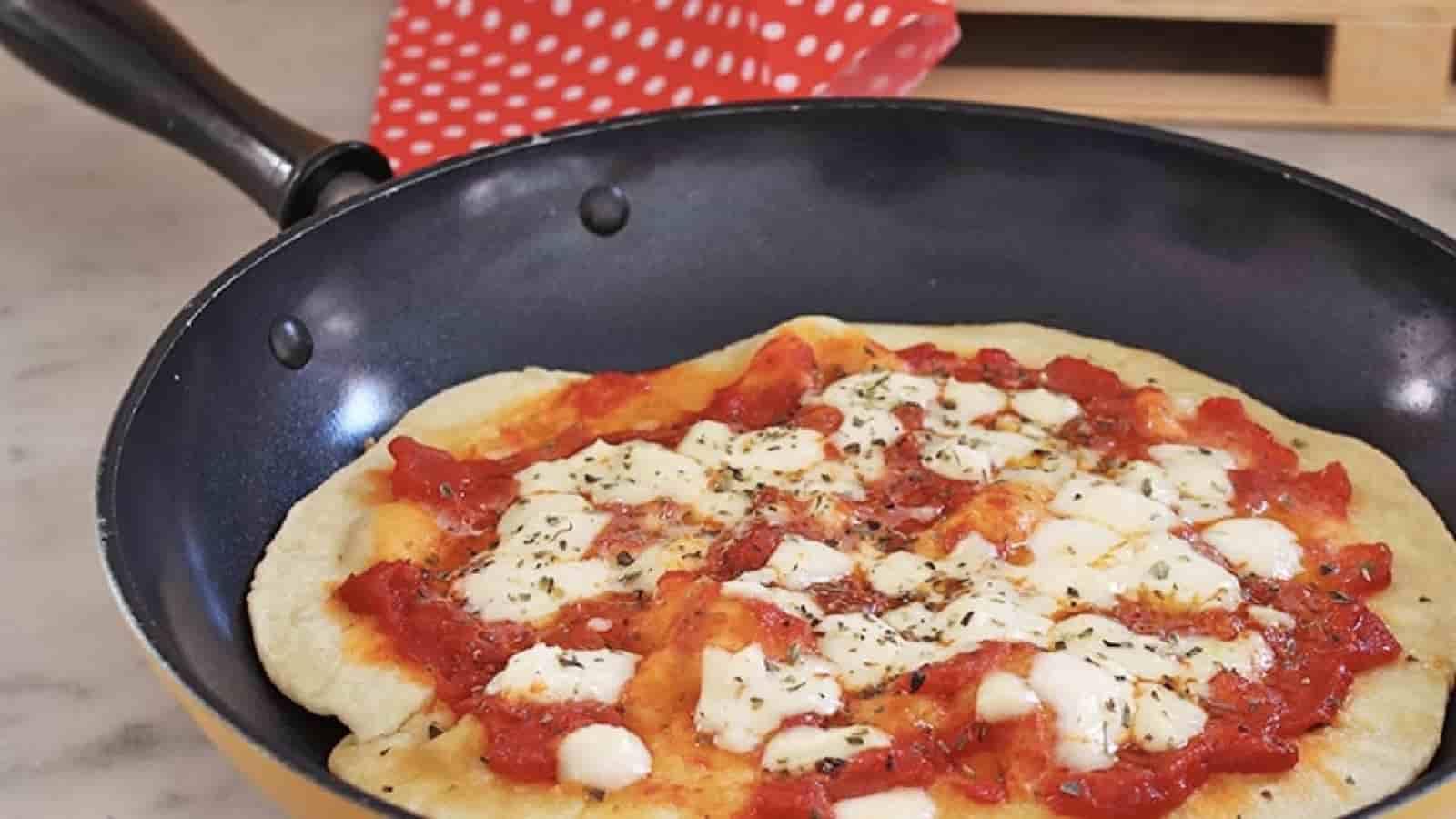 Pizza à la poêle facile