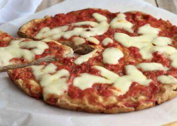 Pizza sans levure et sans gluten