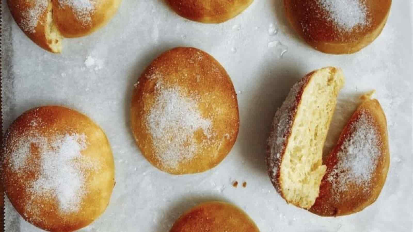 beignets au four sans friture