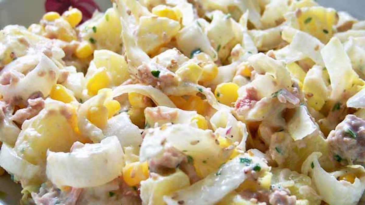 Salade d'été pommes de terre