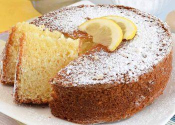12 cuillères à soupe de gâteau au citron