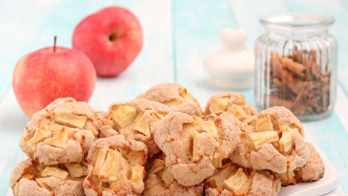 Biscuits aux pommes et à la cannelle