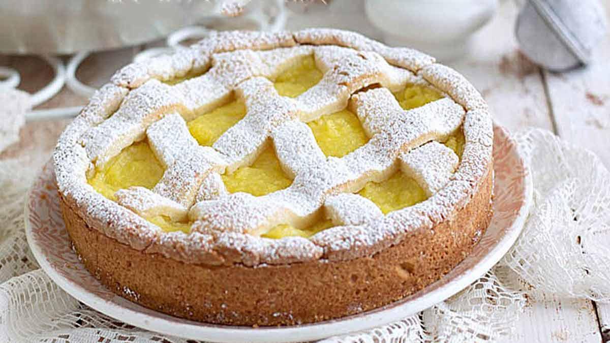 Délicieuse tarte à la crème de citron