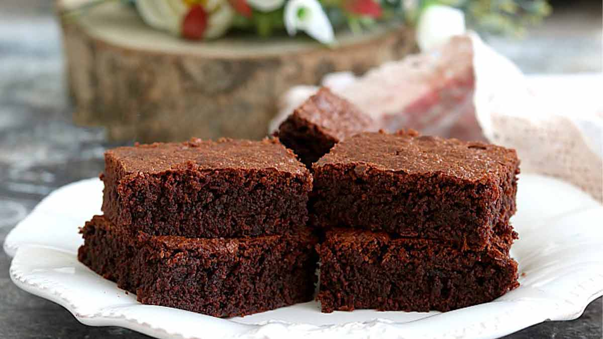 Delicieux Brownies Au Chocolat Facile A Faire Tasties Foods