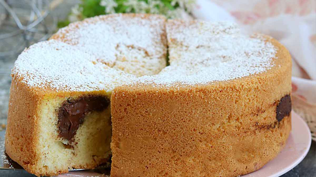 Délicieux gâteau au Nutella