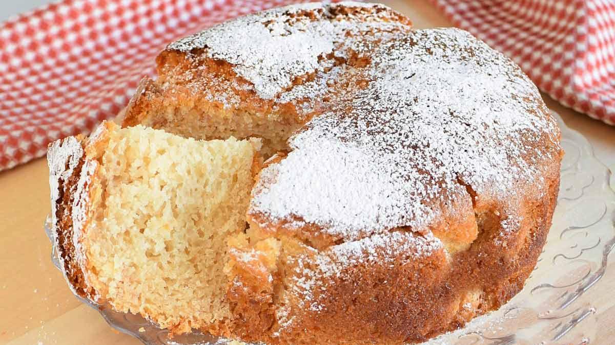 Délicieux gâteau au lait sans œufs