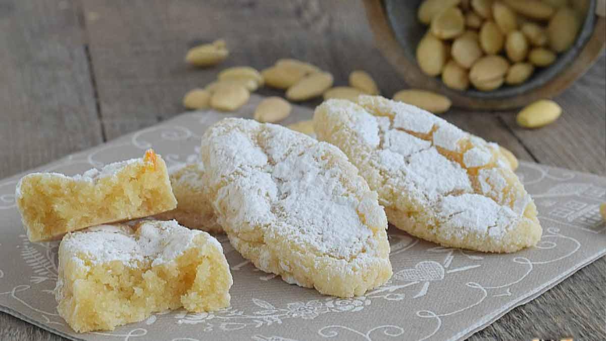 Délicieux petits biscuits aux amandes