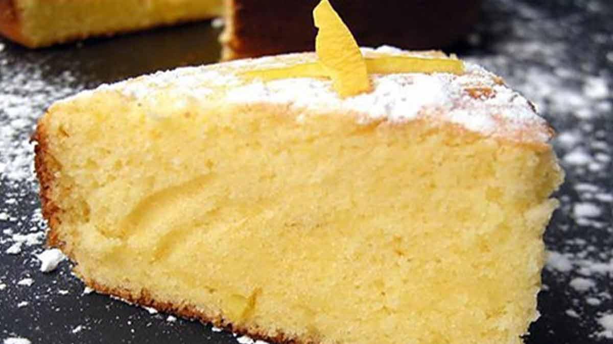 Fabuleux gâteau 12 cuillères au citron