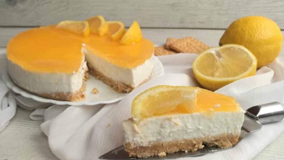 Gâteau au citron et à la ricotta