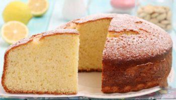 Gâteau au citron et aux amandes