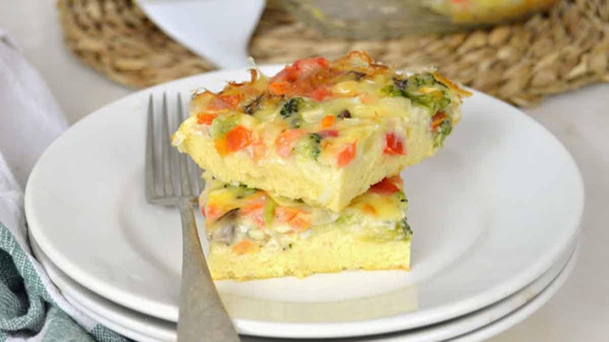 Gâteau express aux légumes facile et délicieux
