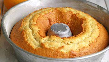 Gâteau moelleux aux oranges