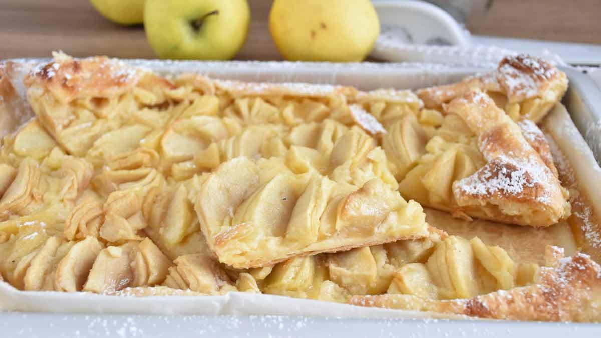 Merveilleuse tarte aux pommes facile à faire