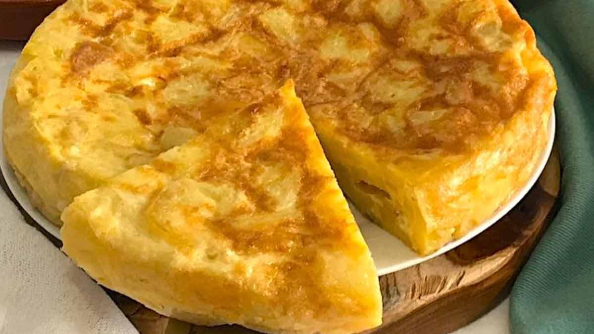 Omelette aux pommes de terre facile
