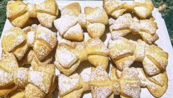 Onctueux croissants flocons