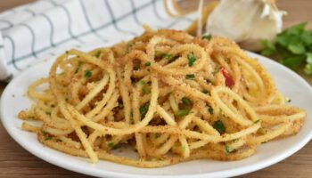 Spaghetti du charretier au parmesan