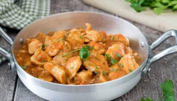 Succulent ragout de poulet facile à faire
