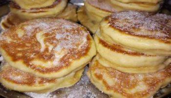 Succulents beignets aux pommes à la poêle de grand-mère