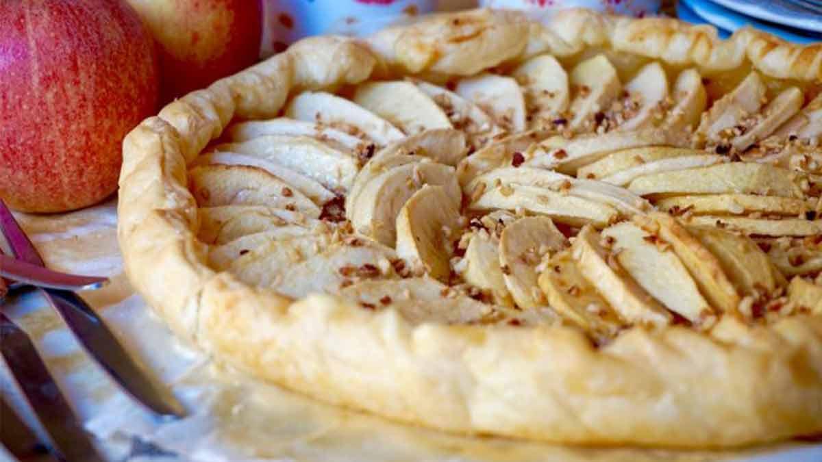 Superbe Tarte aux pommes facile à faire