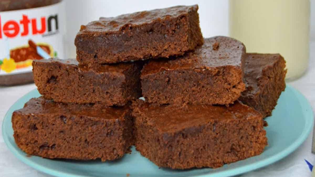 Délicieux brownie au Nutella