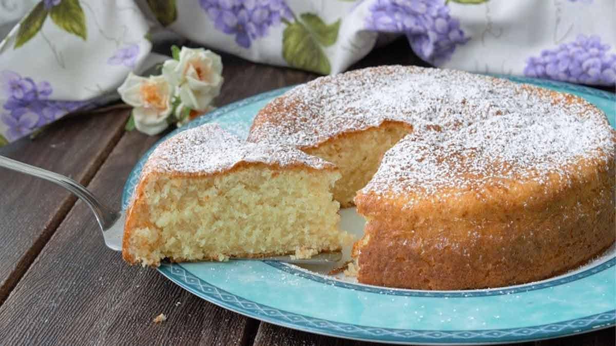 gâteau à la noix de coco et yaourt