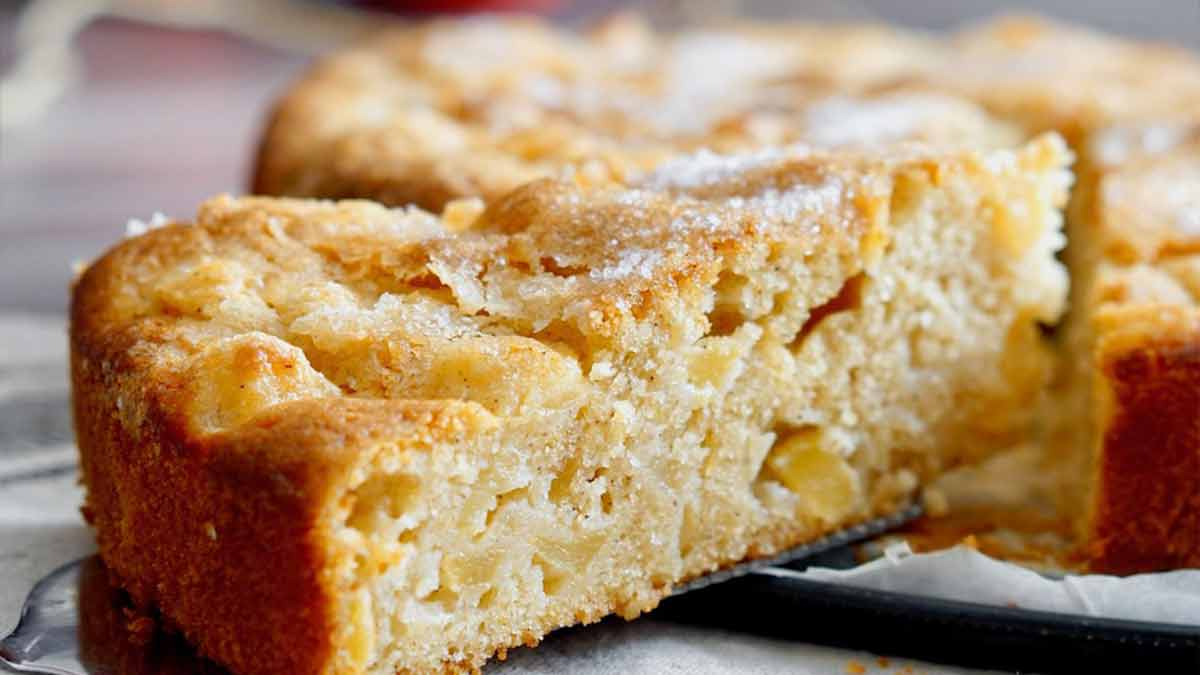 tarte aux pommes très facile à faire